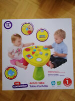 NEW OPENED BOX KID CONNECTION ACTIVITY TABLE - $20