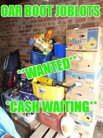 WANTED* carboot joblot, bric-a-brac