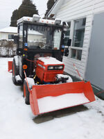 tracteur kubota industriel