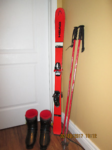 Youth's Skis , Poles and Boots