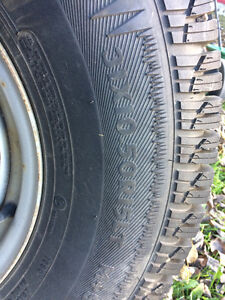 Artic Claw Winter tires on rims Prince George British Columbia image 3