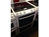 ZANUSSI 60CM DOUBLE OVEN FAN ASSISTED ELECTRIC COOKER063