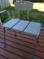 Shower Bench in Excellent Condition