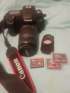 EOS 7D DSLR + 2 Lenses and MANY Accessories