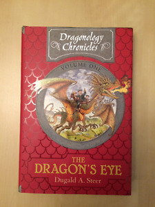 Set of 3 Dragonology Hardcover Books and Model