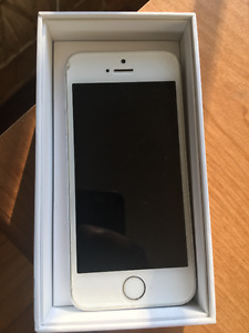 Apple iphone 5s silver 64 GB (unlocked)