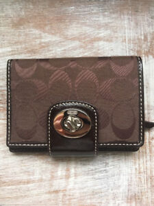 Coach wallet - brown - never used