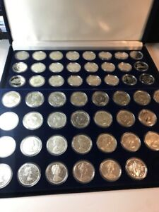 1935-2000 SILVER DOLLARS 59 piece ALL SET FULL,INCL1948,1947