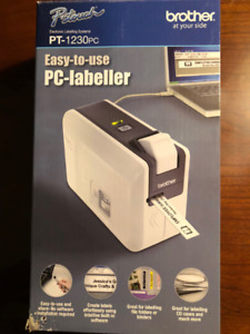 Brother P-touch PC labeller