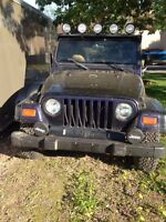 Parting out this 1998 jeep TJ