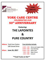 Outdoor Concert featuring The LaPointes and Pure Country