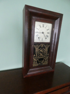 1830 Wooden Works Wall Clock