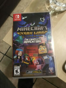 Minecraft Story Mode (The Complete Adventure)  4 Nintendo Switch
