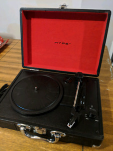 HYPE HY-2004-BCT briefcase USB turntable & vinyl archiver