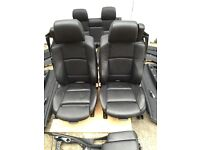 BMW E93 Sports Black Heated Leather Interior Complete