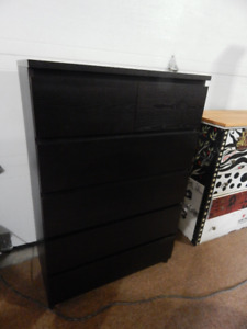Ikea Malm Six Drawer Dresser