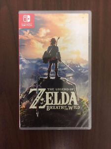 Zelda Breath of the Wild Special Edition Game (NEW, MINT,SEALED)