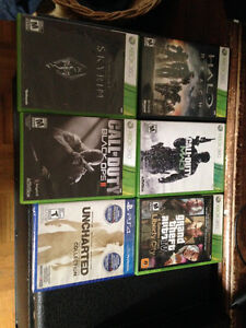 Selling my Xbox 360 games and a brand new PS4 game