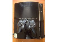 SONY PLAYSTATION PS3 60GB CECHC03 CONSOLE BACKWARDS COMPATIBLE PS2 PS1 GTA5