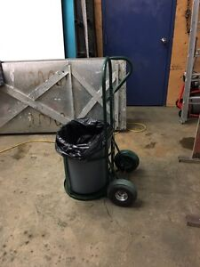 GARBAGE CAN DOLLY!!!