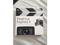 Final Cut Express HD 4