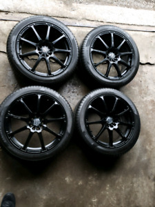 "Wheels enkei 18"" 5x100 or 5x114.3"