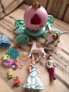 Polly Pocket Cinderella and Carriage