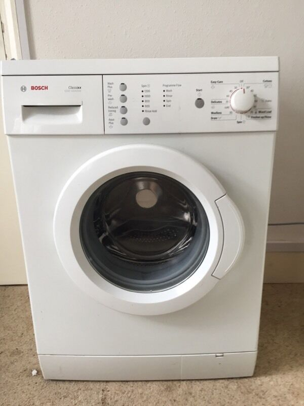 Bosch Classixx 5 Washing machine Instruction manual navy