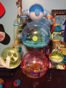 Ovo hamster cages plus tubes and more!  100  obo
