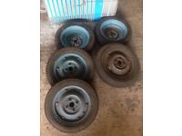 x5 Vespa wheels