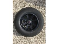 Inforged 4x4 Alloy Wheels c/w Continental Tyres