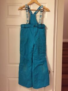Girl size 10 teal snow suit  Kitchener / Waterloo Kitchener Area image 3