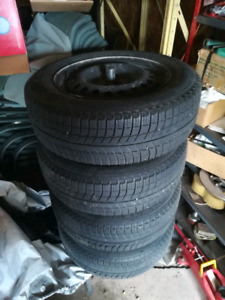 Michelin X Ice Tires & Honda Accord Fitted Winter Floor Mats