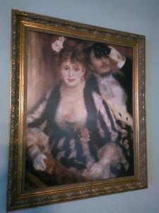 """Renoir Framed Print  """"La Loge"""" Oakville / Halton Region Toronto (GTA) image 1"""