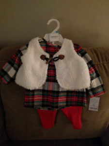 Carters 3 piece set, 6 months.