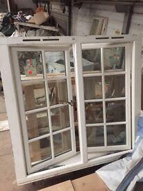 Timber double glazed window