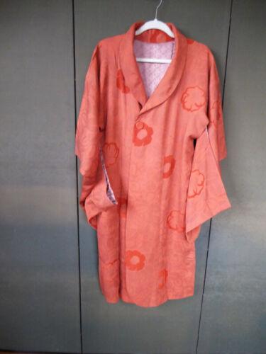 Vintage Japanese Silk Jacket, Haori, Michiyuki, Kimono