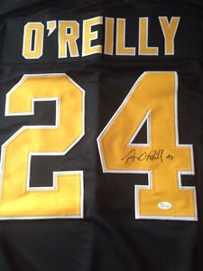 Terry O'Reilly Autographed Jersey w/ COA! Windsor Region Ontario image 2