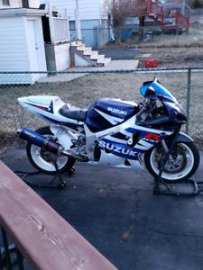 2003 GSXR 600cc