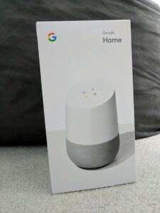 Brand new and Unopened Google Home (White/Grey palette)