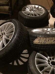 Winter tires and rims for sale!!!!!! 205/50r17