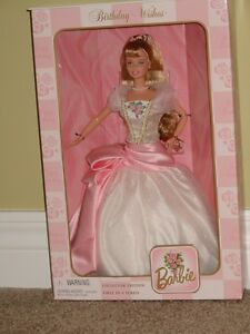 collectible Birthday wishes Barbies $30 each