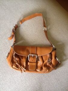 Leather Roots purse
