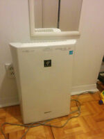Sharp PlasmaCluster Ion Air Purifier + Humidification function
