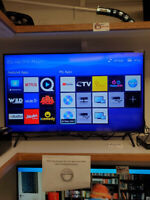 """43"""" 4k Smart TV only 329.95+taxes at First Stop Swap Shop!"""
