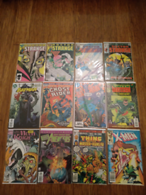 144 various comics (Marvel, DC etc)