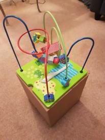 Childs, wooden activity Centre