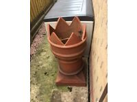 Terracotta chimney pot