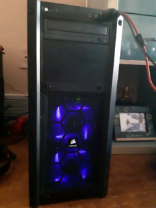 Liquid cooled gaming tower