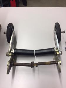 Rollerski / Roller ski pour motoneige Polaris
